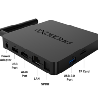 סטרימר אנדרואיד PROBOX2 AIRBOX 4K