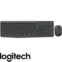 סט מקלדת ועכבר אלחוטיים Logitech דגם MK235 – יבואן רשמי
