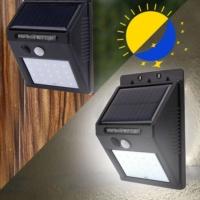 פנס LED סולארי מוגן מים עם חיישן תנועה