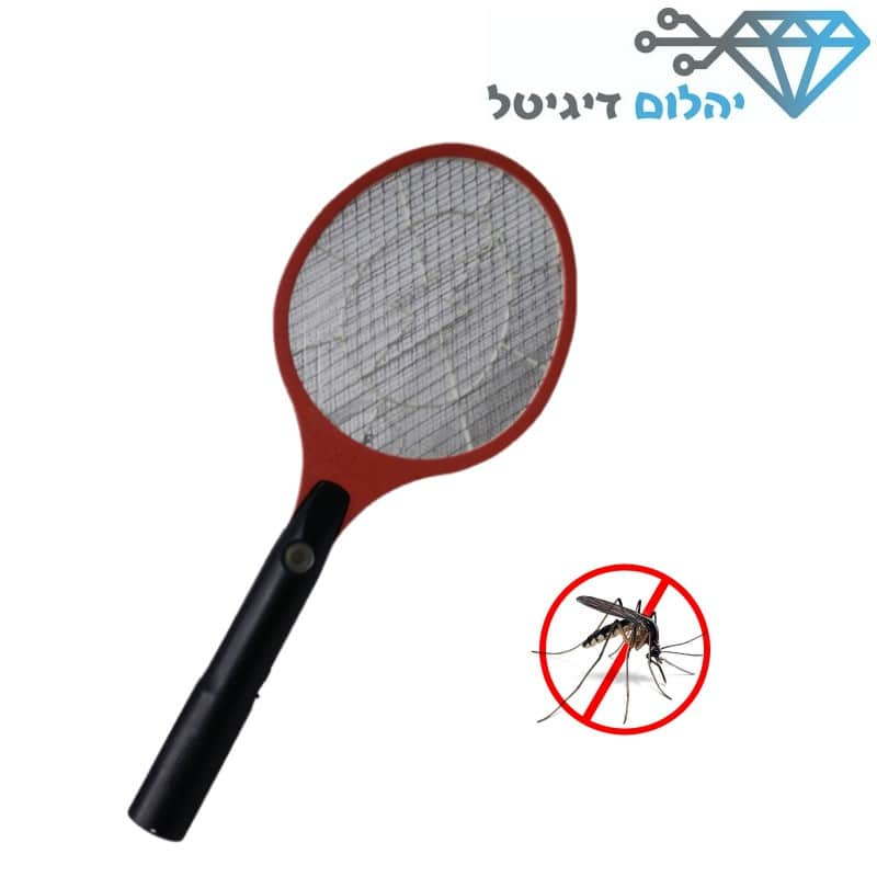 מחבט אלקטרוני לקטילת יתושים וחרקים מעופפים